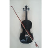 Student Acoustic Violin Full 1/8 Maple Spruce with Case Bow Rosin Black Color - Mega Save Wholesale & Retail