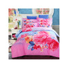 Bed Quilt Duvet Sheet Cover 4PC Set Upscale Cotton Sanded simple but elegant  020 - Mega Save Wholesale & Retail