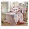 Silk ink and wash painting Duvet Quilt Cover Sets Bedding Cover Set  01 Pink - Mega Save Wholesale & Retail