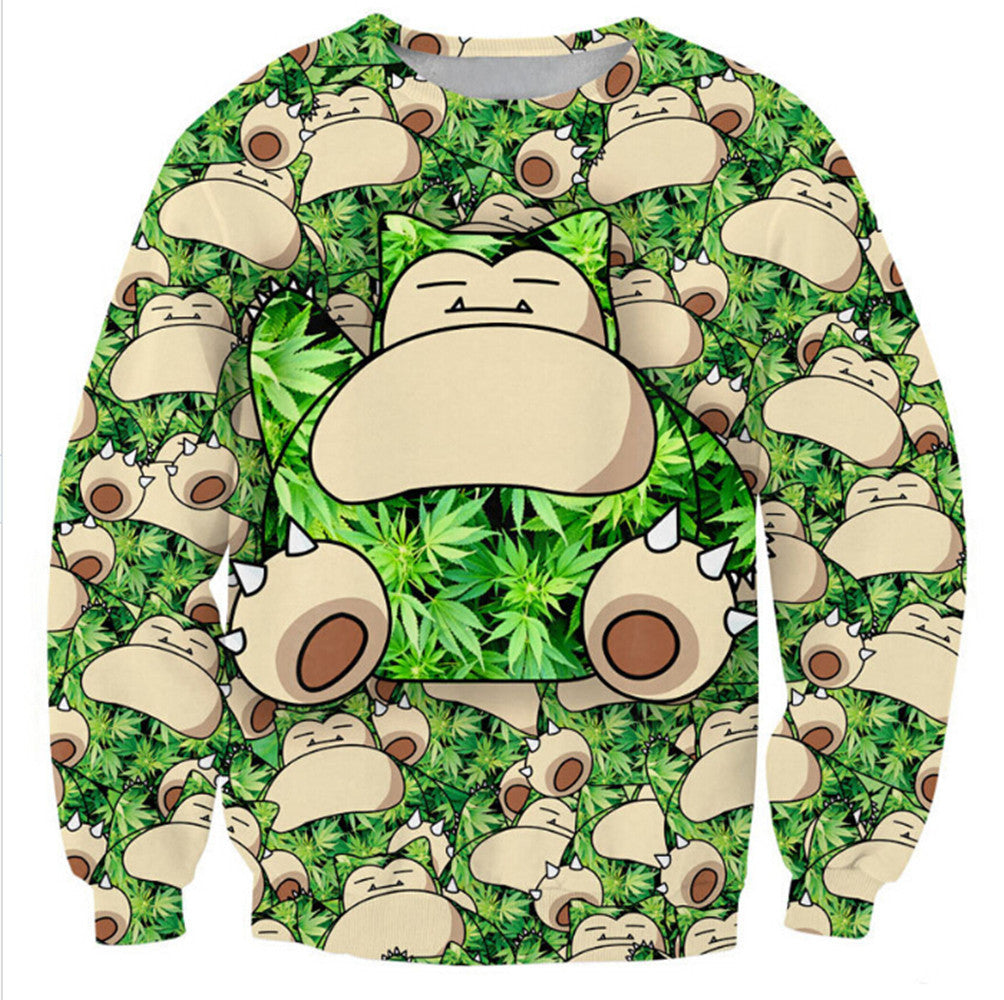 Womens Mens 3D Print Realistic Space Galaxy Animals Hoodie Sweatshirt Top Jumper monkey - Mega Save Wholesale & Retail