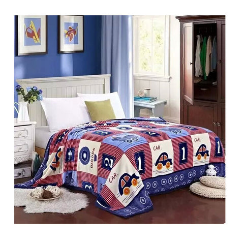 Two-side Blanket Bedding Throw Coral fleece Super Soft Warm Value  38 - Mega Save Wholesale & Retail