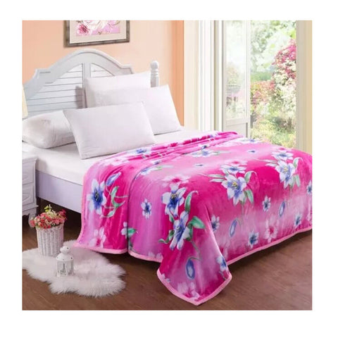 Two-side Blanket Bedding Throw Coral fleece Super Soft Warm Value  42 - Mega Save Wholesale & Retail