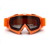 Adult Colourful double Lens Snow Ski Snowboard Goggles Motocross Anti-Fog Fashion Eye Protection Orange Tea - Mega Save Wholesale & Retail