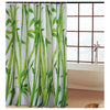 Home Waterproof Fabric Bathroom Shower Waterproof Curtain Bamboo Print - Mega Save Wholesale & Retail