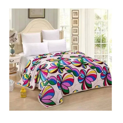 Two-side Blanket Bedding Throw Coral fleece Super Soft Warm Value  28 - Mega Save Wholesale & Retail