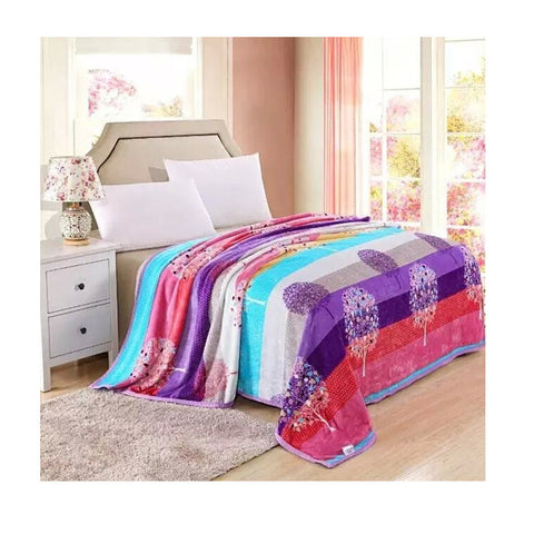 Two-side Blanket Bedding Throw Coral fleece Super Soft Warm Value  22 - Mega Save Wholesale & Retail