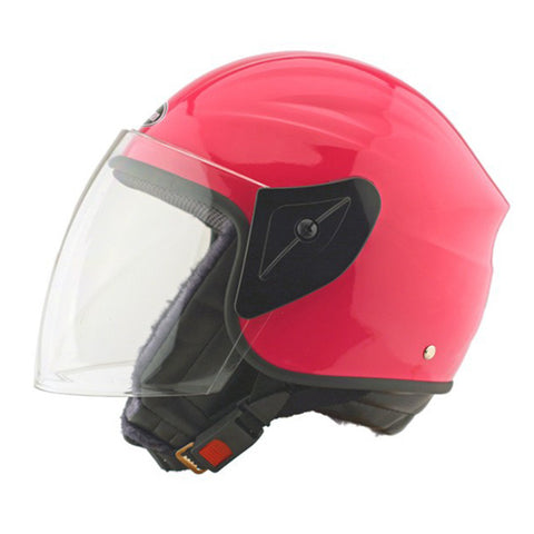 Motorcycle Motor Bike Scooter Safety Helmet 101   pink - Mega Save Wholesale & Retail - 1