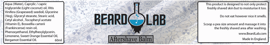Aftershave Balm 60ml - Beard Lab - BeardLab  - Beard Oil UK, Beard Care BeardLab - UK Beard Oil - Beard Products