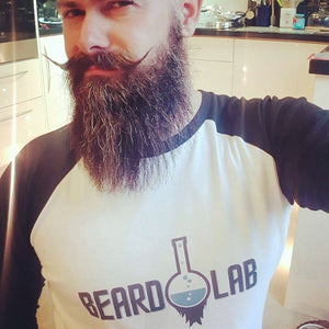 Beard Lab Baseball T-Shirt Unisex - BeardLab Clothing - Beard Oil UK, Beard Care BeardLab - UK Beard Oil - Beard Products