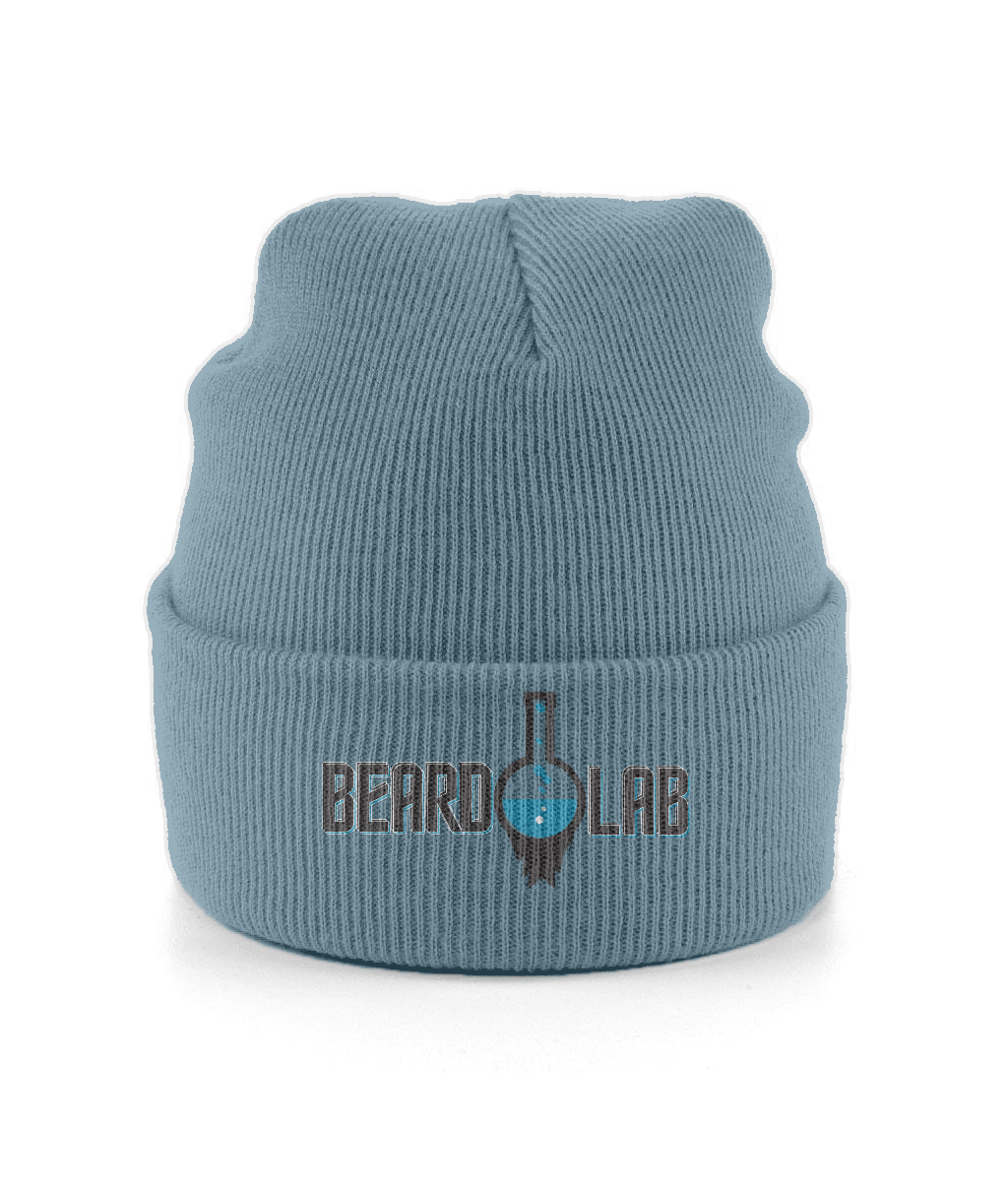 Beard Lab Cuffed Beanie - BeardLab Embroidered Hats - Beard Oil UK, Beard Care BeardLab - UK Beard Oil - Beard Products