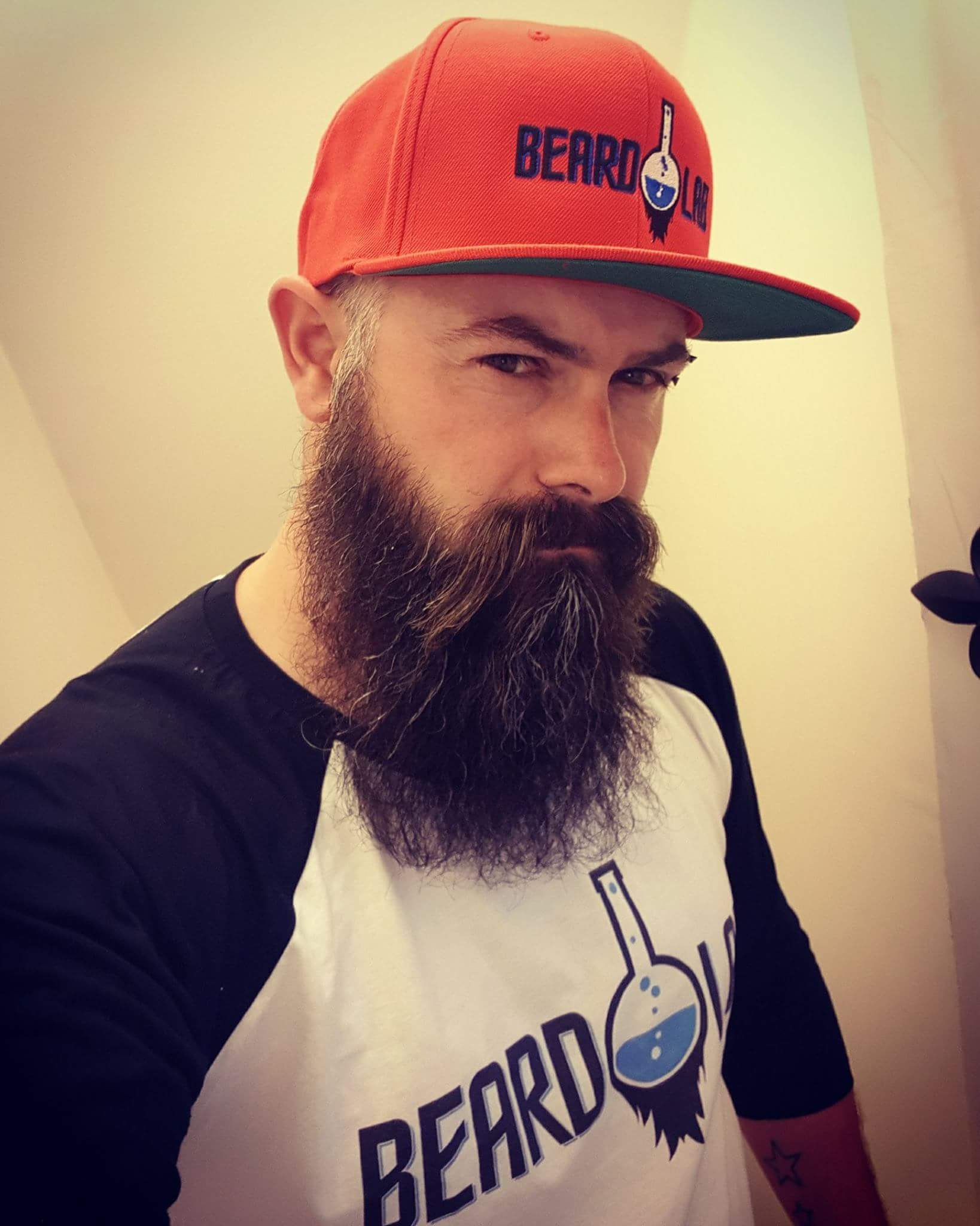 Beard Lab Snapback by Yupoong The Classic Snapback - BeardLab Embroidered Hats - Beard Oil UK, Beard Care BeardLab - UK Beard Oil - Beard Products