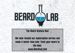 Beard Science Subscription Box - BeardLab  - Beard Oil UK, Beard Care BeardLab - UK Beard Oil - Beard Products