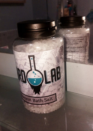 Darwin Bath Salts 250g - Beard Lab - BeardLab Other - Beard Oil UK, Beard Care BeardLab - UK Beard Oil - Beard Products