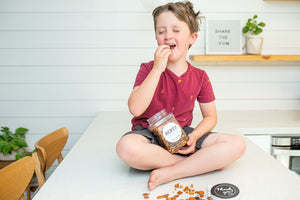Large Gift Jar –  Crunchy Maple Snack
