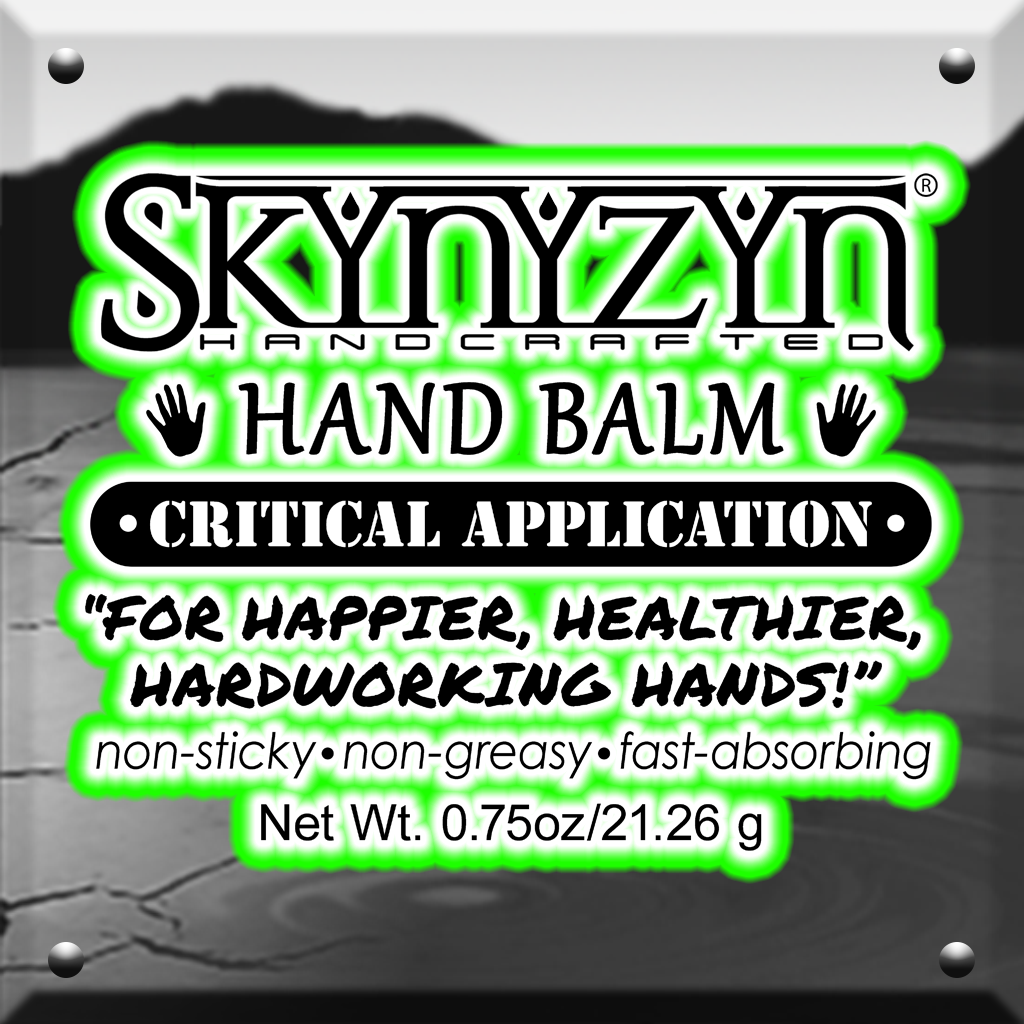 SkYnYzYn® Handcrafted Critical Application Hand Balm