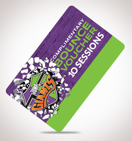 Open Jump 10 Session Bundle - Jump Giants Gift Card