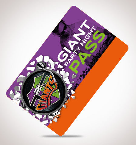 Giant Party Nights - Jump Giants Gift Card