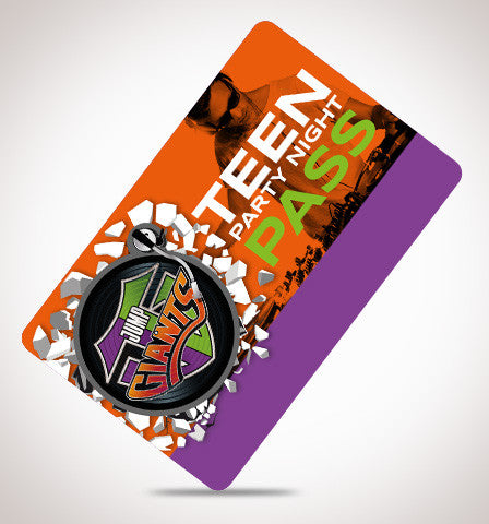 Teen Party Nights - Jump Giants Gift Card