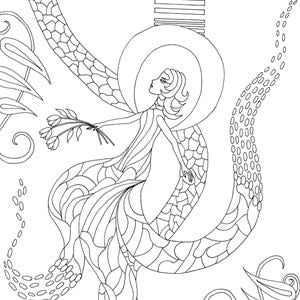 Free Coloring Pages Zen Coloring Pages