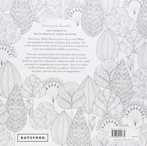 animal kingdom a coloring book adventure by millie marotta