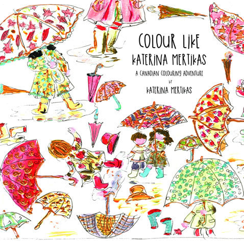 Colour Like Katerina Mertikas Front Cover