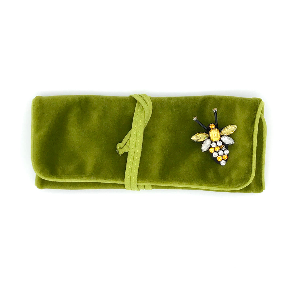 Chartreuse jewellery wrap