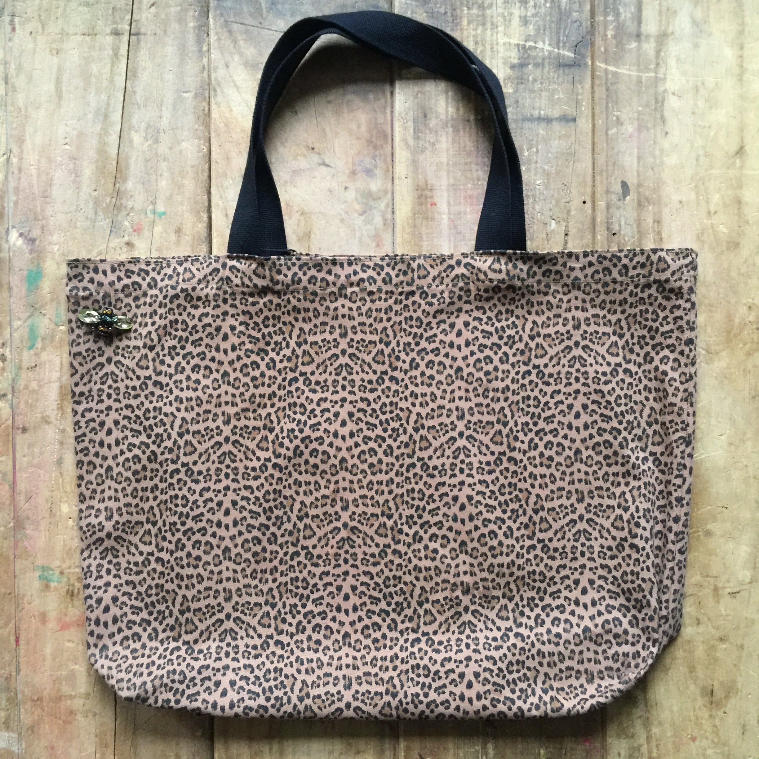 Sixton London leopard shopper