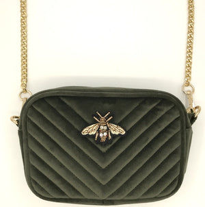 Soho bag in military olive