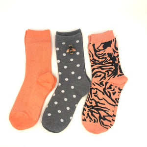 Tiger Madrid Cantaloupe sock box