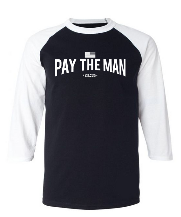 Black and White Classic PTM Long Sleeve Shirt