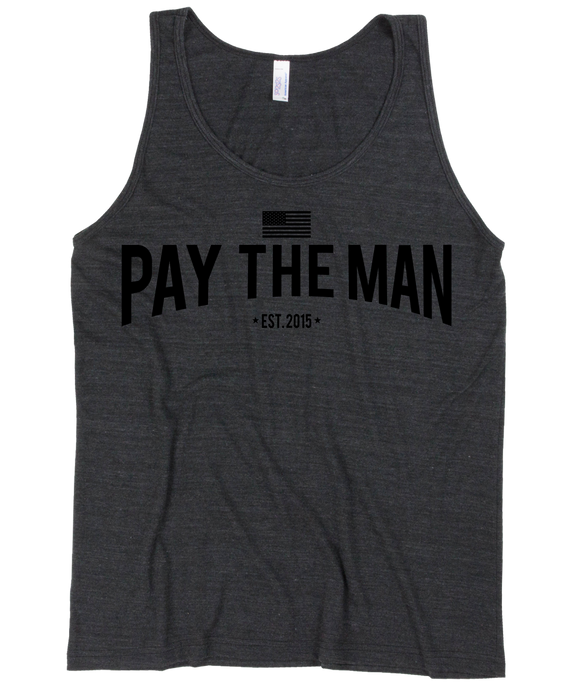 Classic PTM Black on Black Tank