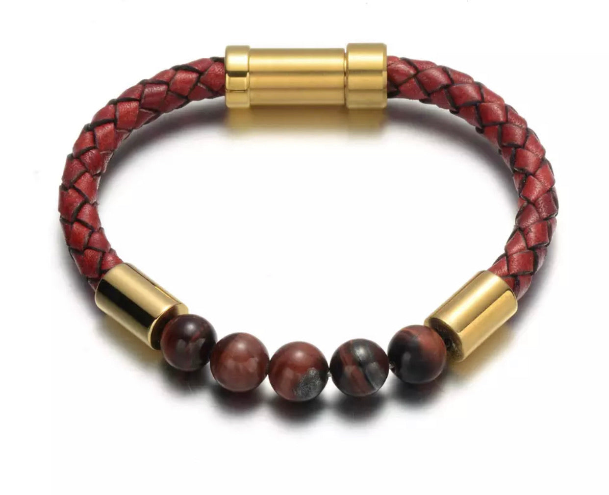 KC CROWN's 'Flat Earth' Jasper Bracelet