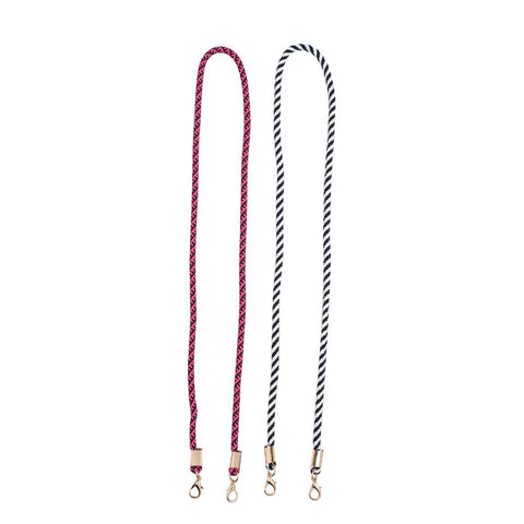 Sol and Selene Face Mask Lanyard Necklace - 2 Pack Accessories : Accessories : Lanyards 841764106191 | Black Pink