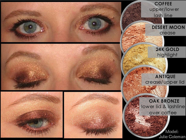 COFFEE Multi-Use Loose Mineral Powder Pigment Color Loose Mineral Multi-Use Colors M*A*D Minerals Makeup