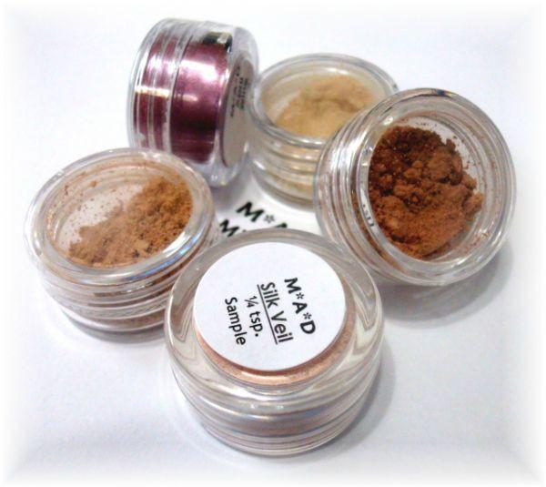 5 Piece Sample Set For Face Sets & Kits M*A*D Minerals Makeup