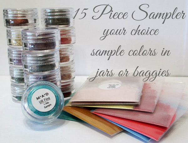 15 PC. VALUE SAMPLER SET - YOU CHOOSE THE COLORS