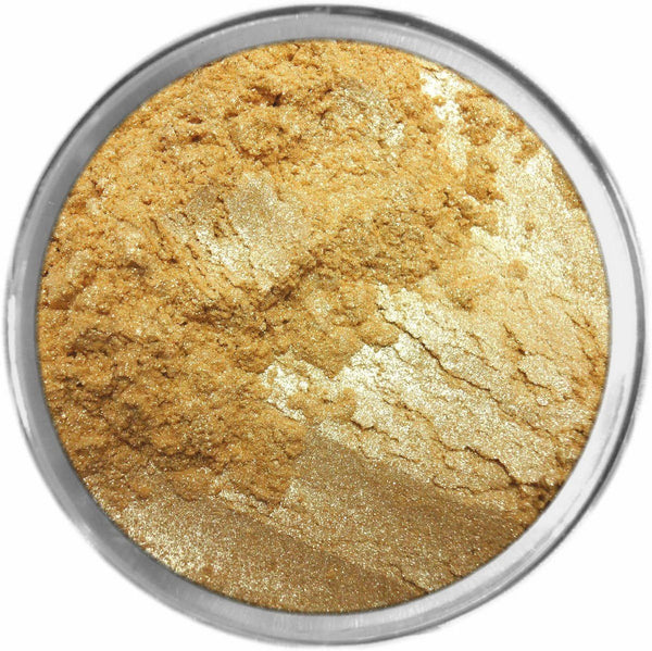 24K GOLD Multi-Use Loose Mineral Powder Pigment Color Loose Mineral Multi-Use Colors M*A*D Minerals Makeup