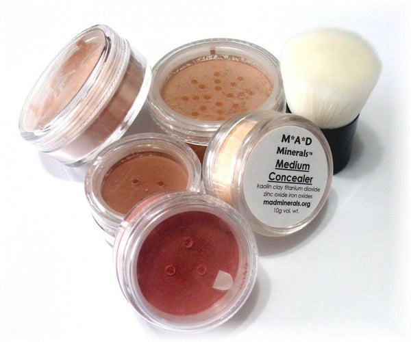 6 PIECE FULL SIZE BASIC MINERAL STARTER KIT