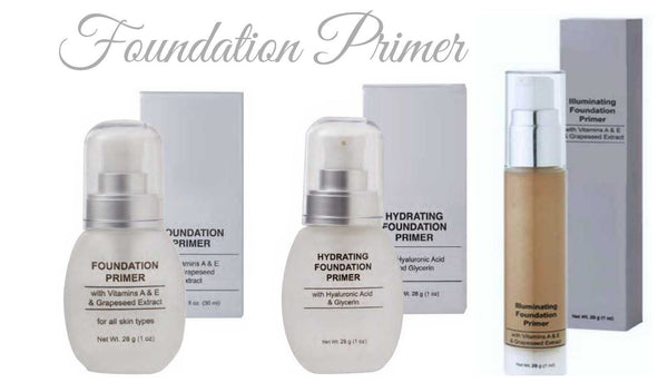 Silky Smooth Silicone Foundation Primers