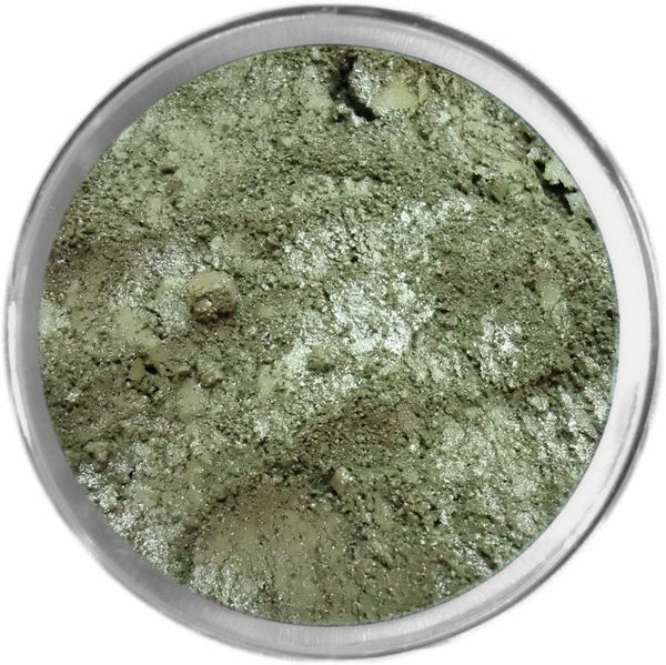 ARMY GREEN Multi-Use Loose Mineral Powder Pigment Color Loose Mineral Multi-Use Colors M*A*D Minerals Makeup