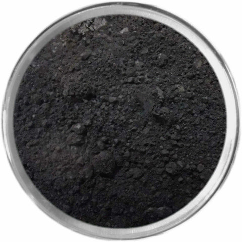 BLACK Multi-Use Loose Mineral Powder Pigment Color Loose Mineral Multi-Use Colors M*A*D Minerals Makeup