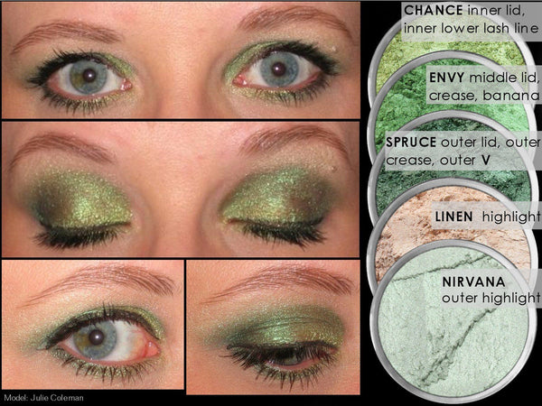 ENVY Multi-Use Loose Mineral Powder Pigment Color Loose Mineral Multi-Use Colors M*A*D Minerals Makeup