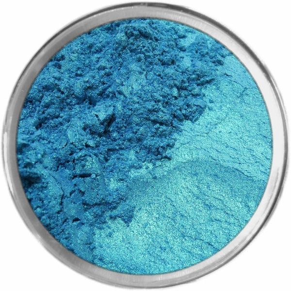 ELECTRIC BLUE Multi-Use Loose Mineral Powder Pigment Color Loose Mineral Multi-Use Colors M*A*D Minerals Makeup