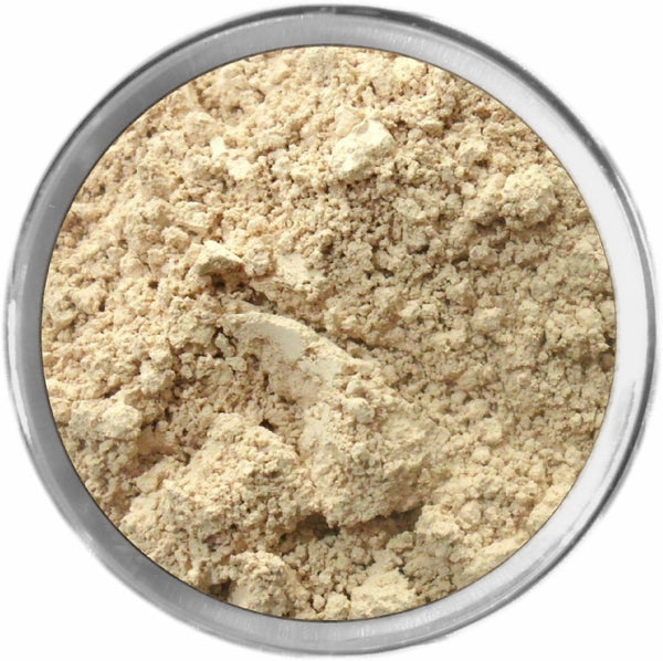 Light Golden Mineral Foundation Loose Mineral Foundation M*A*D Minerals Makeup