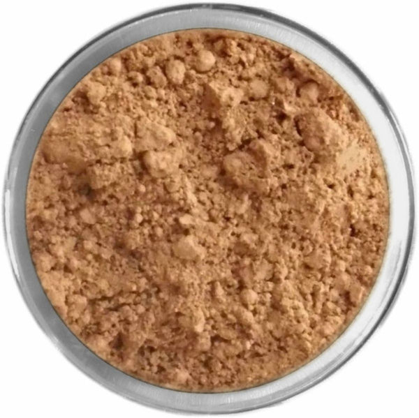 Natural Dark Tan Mineral Foundation Loose Mineral Foundation M*A*D Minerals Makeup