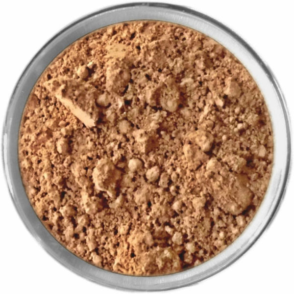 Natural Dark Mineral Foundation Loose Mineral Foundation M*A*D Minerals Makeup