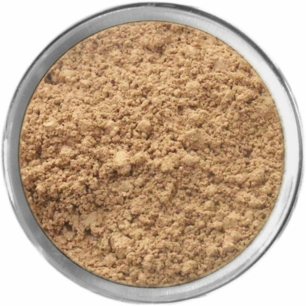 Natural Medium Tan Mineral Foundation Loose Mineral Foundation M*A*D Minerals Makeup
