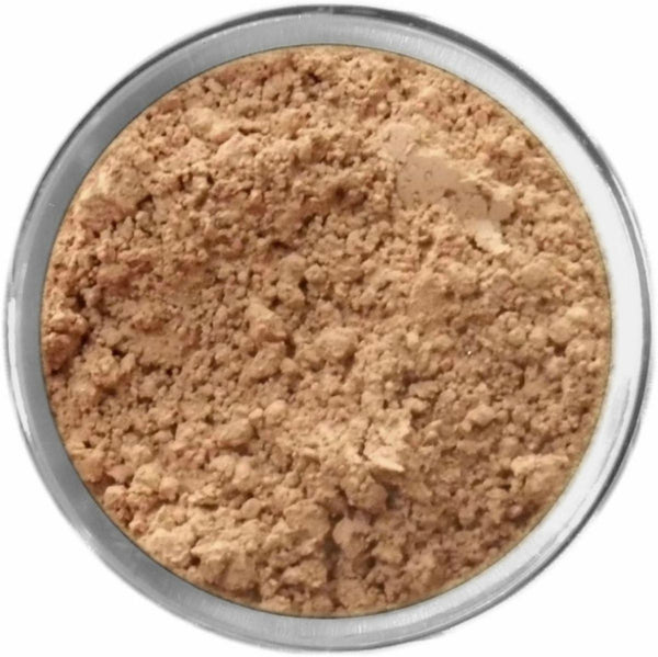 Natural Tan Mineral Foundation Loose Mineral Foundation M*A*D Minerals Makeup