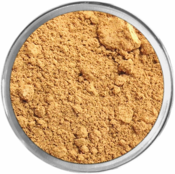 Olive Dark Tan Mineral Foundation Loose Mineral Foundation M*A*D Minerals Makeup