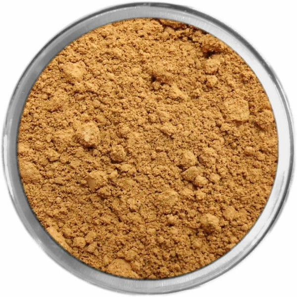 Olive Dark Mineral Foundation Loose Mineral Foundation M*A*D Minerals Makeup